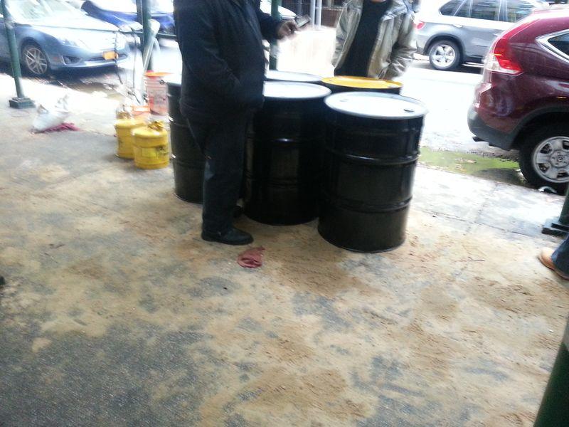 31 fuel barrels