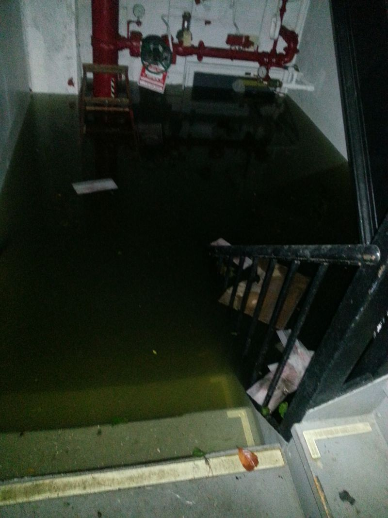 32 flooded basement